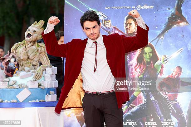 Massimiliano Frateschi attends the 'Guardians of the Galaxy' Red Carpet during the 9th Rome Film Festival on October 21 2014 in Rome Italy