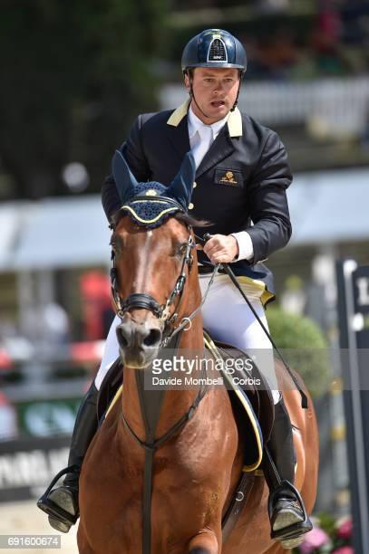 Massimiliano of Italy riding LORO PIANA RIGOLETTO DELLA FLORIDA during the Piazza di Siena Bank Intesa Sanpaolo in the Villa Borghese on May 27 2017...