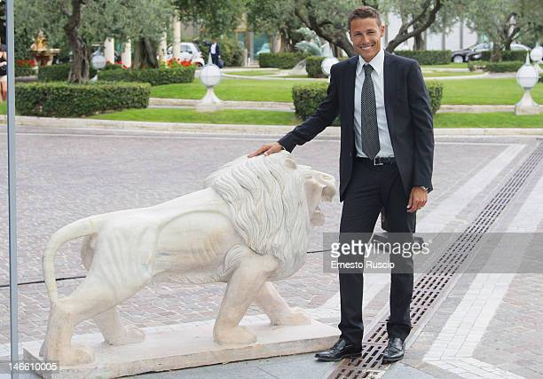 Massimiliano Orsini attends the Palinsesti Rai photocall at Cavalieri Hilton Hotel on June 20 2012 in Rome Italy