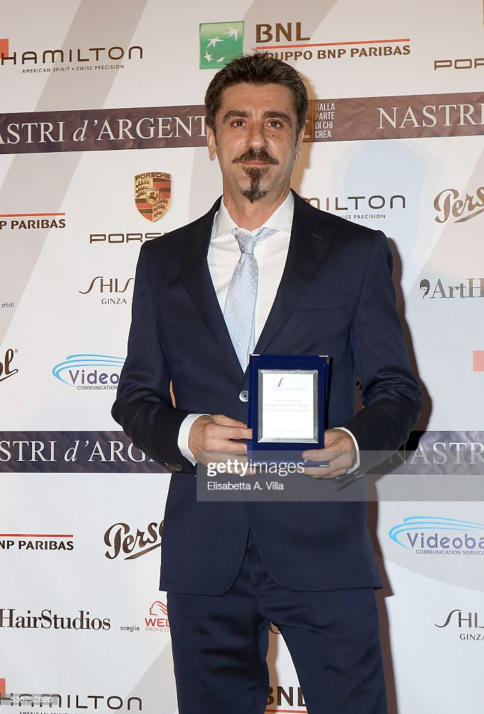 Massimiliano Sturiale attends Nastri D'Argento 2016 Award Nominations at Maxxi on May 31, 2016 in Rome, Italy.