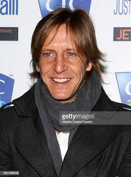 Massimo Ambrosini attends CIC Champions' International Camps photocall at Just Cavalli Cafe on January 31 2013 in Milan Italy