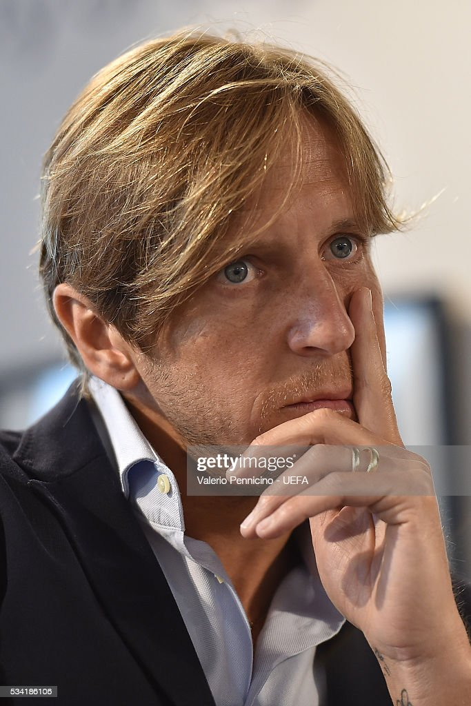 <a gi-track='captionPersonalityLinkClicked' href=/galleries/search?phrase=Massimo+Ambrosini&family=editorial&specificpeople=227979 ng-click='$event.stopPropagation()'>Massimo Ambrosini</a> looks on during the Festival Gallery prior to the UEFA Champions League Final at Stadio Giuseppe Meazza on May 25, 2016 in Milan, Italy.