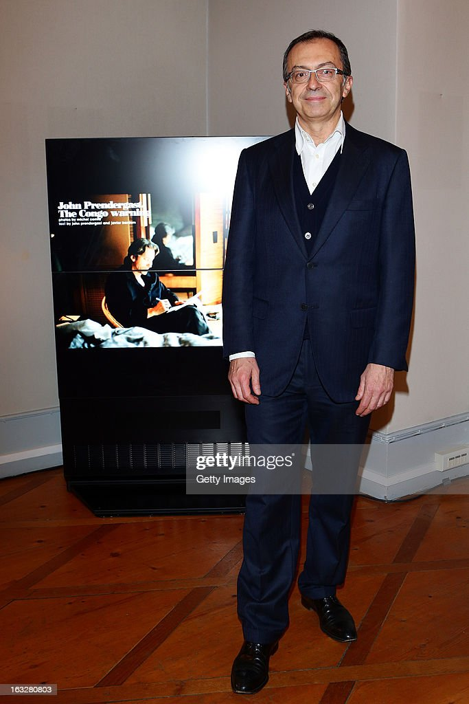 Massimo Borio, Citroen Director of Marketing and Communications, attends the charity auctioning of the first 'Citroen DS3 Cabrio L'Uomo Vogue' hosted by L'Uomo Vogue and Citroen at the Permanent Mission of France to the United Nations Office on March 6, 2013 in Geneva, Switzerland.
