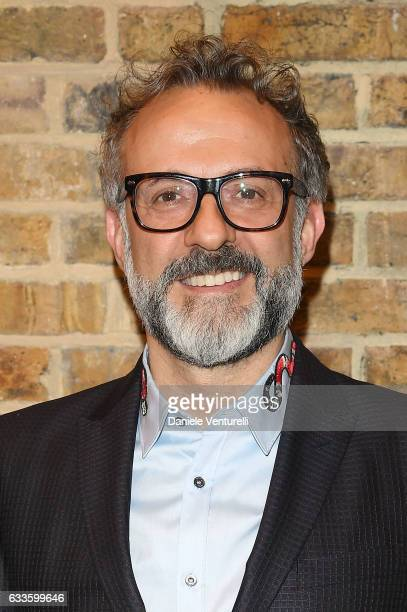 Massimo Bottura attends Dylan Jones and Marco Bizzarri host a cocktail party to launch new film series 'The Performers' at the Serpentine Sackler...