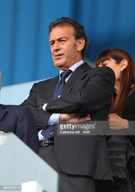 Massimo Cellino chairman of Leeds United before the Sky Bet Football League Championship between Reading and Leeds United at Madejski Stadium on...