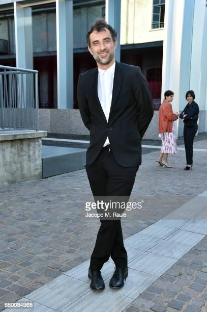 Massimo Coppola attends a 'Private view of 'TV 70 Francesco Vezzoli Guarda La Rai' at Fondazione Prada on May 7 2017 in Milan Italy