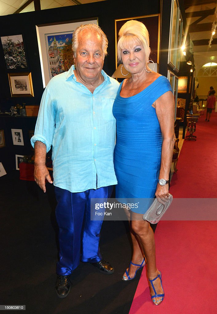 <a gi-track='captionPersonalityLinkClicked' href=/galleries/search?phrase=Massimo+Gargia&family=editorial&specificpeople=614932 ng-click='$event.stopPropagation()'>Massimo Gargia</a> and <a gi-track='captionPersonalityLinkClicked' href=/galleries/search?phrase=Ivana+Trump&family=editorial&specificpeople=159374 ng-click='$event.stopPropagation()'>Ivana Trump</a> attend the 1rst Salon de Prestige d'Arts et d'Antiquites Saint Tropez - <a gi-track='captionPersonalityLinkClicked' href=/galleries/search?phrase=Massimo+Gargia&family=editorial&specificpeople=614932 ng-click='$event.stopPropagation()'>Massimo Gargia</a>'s Cocktail at the Salle Despas on August 25, 2012 in Saint Tropez, France.