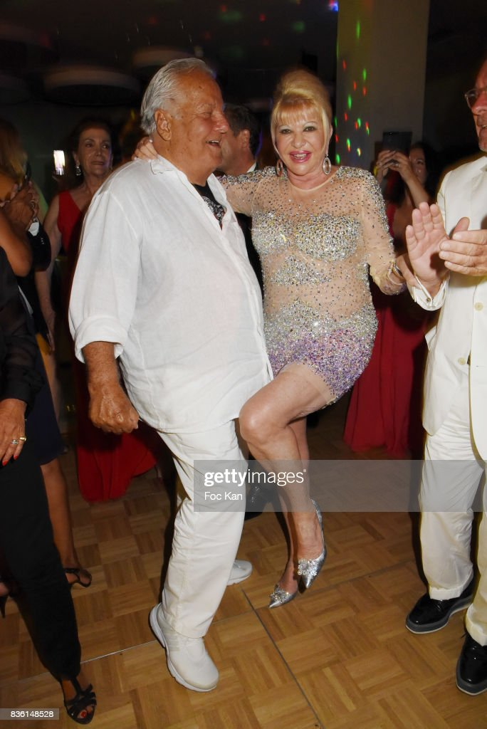 Ê(L-R) Massimo Gargia and Ivana Trump attend the Massimo Birthday Party at Hotel de Paris As Part of Saint-Tropez Party On French Riviera on August 20, 2017 in Saint-Tropez, France.