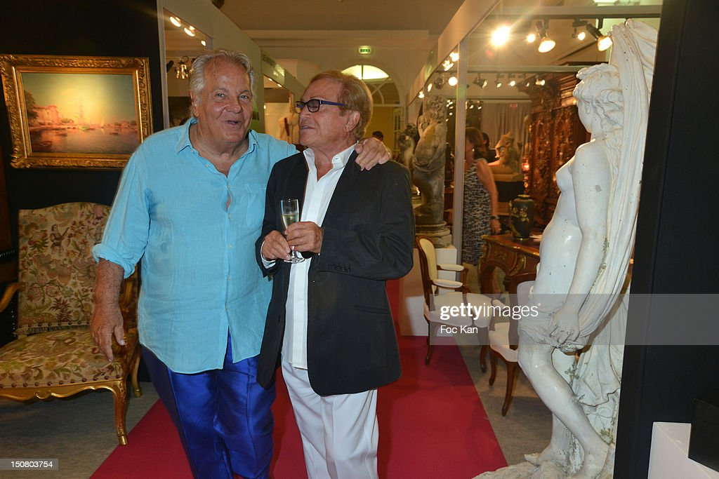 <a gi-track='captionPersonalityLinkClicked' href=/galleries/search?phrase=Massimo+Gargia&family=editorial&specificpeople=614932 ng-click='$event.stopPropagation()'>Massimo Gargia</a> and Orlando attend the 1rst Salon de Prestige d'Arts et d'Antiquites Saint Tropez - <a gi-track='captionPersonalityLinkClicked' href=/galleries/search?phrase=Massimo+Gargia&family=editorial&specificpeople=614932 ng-click='$event.stopPropagation()'>Massimo Gargia</a>'s Cocktail at the Salle Despas on August 25, 2012 in Saint Tropez, France.