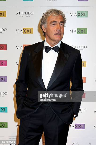 Massimo Giletti attends a photocall for the MAXXI Acquisition Gala Dinner 2016 at Maxxi Museum on November 7 2016 in Rome Italy