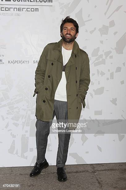 Massimo Giorgetti attends the The Vogue Talents Corner fashion show during Milan Fashion Week Womenswear Autumn/Winter 2014 on February 19 2014 in...