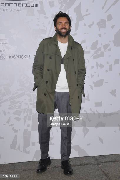 Massimo Giorgetti attends The Vogue Talents Cornercom during Milan Fashion Week Womenswear Autumn/Winter 2014 on February 19 2014 in Milan Italy