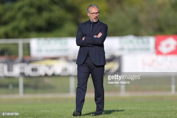 Massimo Migliorini manager of Italy U16 women's during the 2nd Female Tournament 'Delle Nazioni' final match between Italy U16 and USA U16 on April...