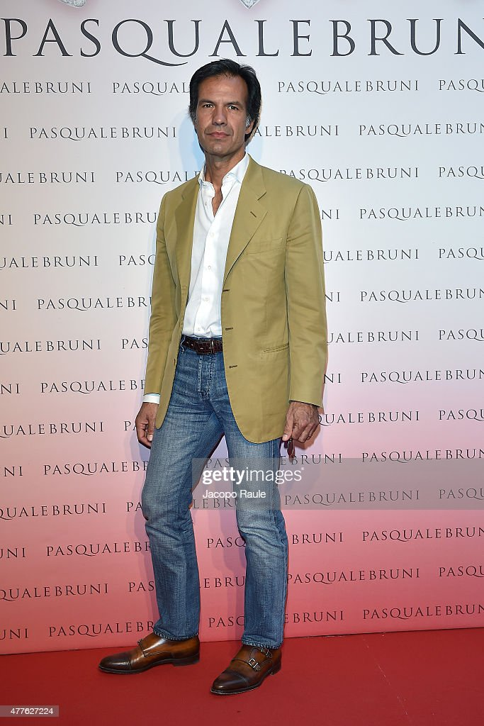 Massimo Moretti attends Pasquale Bruni - Giardini Segreti Cocktail Party on June 18, 2015 in Milan, Italy.