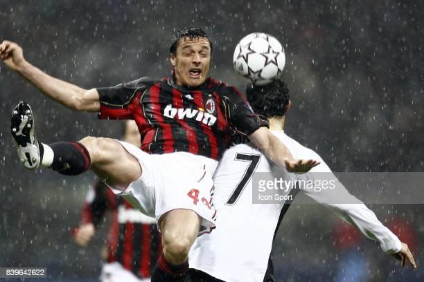 Massimo ODDO Milan Ac / Manchester United 1/2 Finale retour de Champions League Milan Italie
