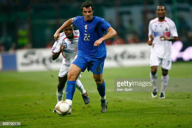 Massimo ODDO Italie / France Eliminatoires Euro2008 San Siro Milan