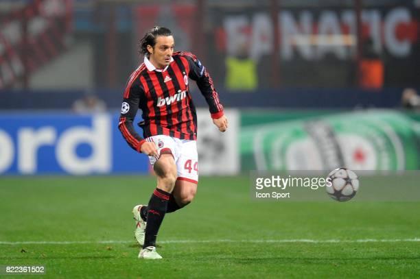 Massimo ODDO Milan AC / Marseille Champions League Stade Guiseppe Meazza Milan Italie