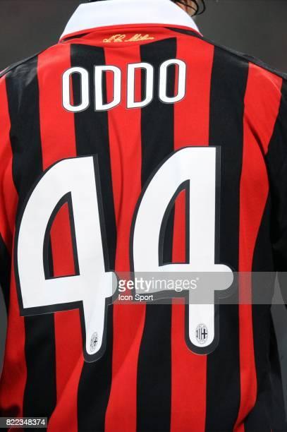 Massimo ODDO Illustration Milan AC / Marseille Champions League Stade Guiseppe Meazza Milan Italie
