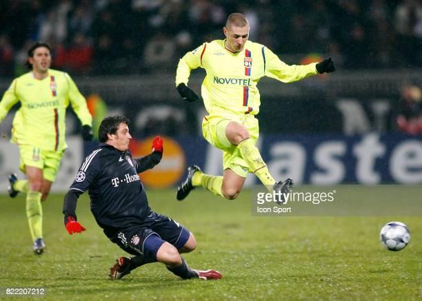 Massimo ODDO / Karim BENZEMA Lyon / Bayern Munich Champions League 2008/2009