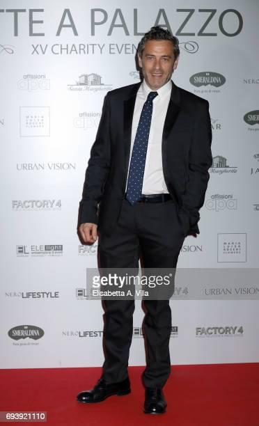 Massimo Poggio attends Anlaids Gala at Palazzo Doria Pamphilj on June 8 2017 in Rome Italy
