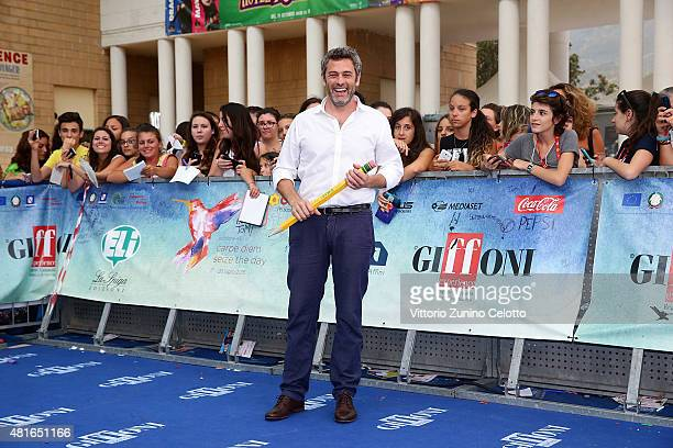 Massimo Poggio attends Giffoni Film Festival 2015 Day 7 photocall on July 23 2015 in Giffoni Valle Piana Italy