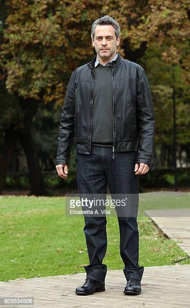 Massimo Poggio attends 'L'Amore Rubato' Photocall at Villa Borghese on November 24 2016 in Rome Italy