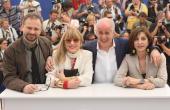Massimo Popolizio Piera Degli Esposti Tony Servillo and Anna Bonaiuto attend the Il Divo Photocall at the Palais des Festivals during the 61st...