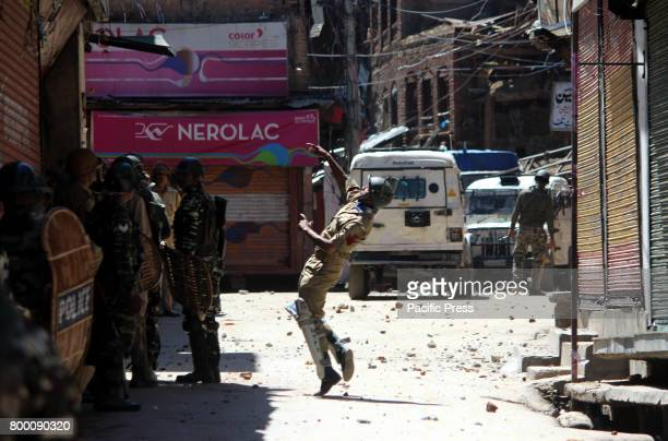 Massive clashes broke out between protesters and government security forces in Reshi Bazar area of Anantang district soon as congregational Friday...