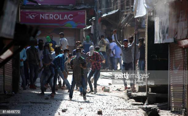 Massive clashes erupted between Government security forces and Muslim protesters after Friday prayers in Reshi Bazar area of south Kashmir's Anantnag...
