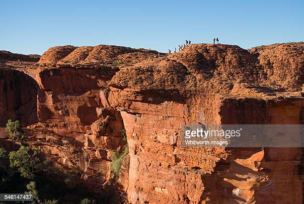 Massive cliffs of Kings Canyon outback Australia