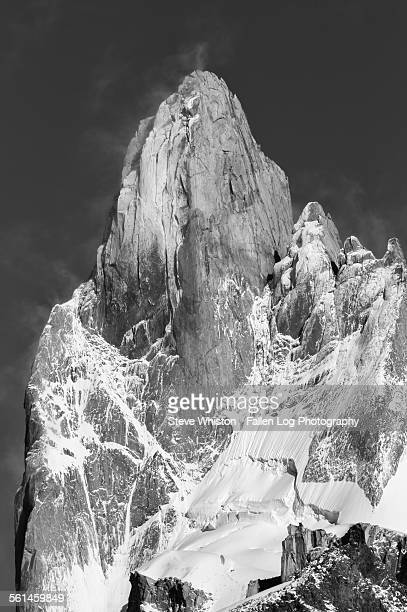 Massive Face of Mt Fitzroy in Patagonia