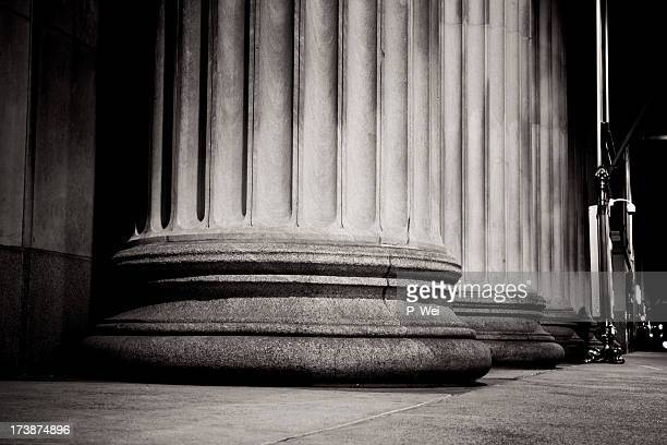 Massive Pillars at the Federal Reserve