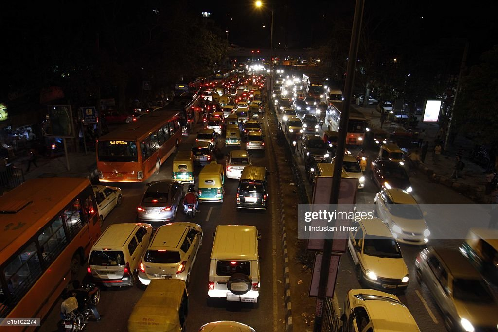 Huge Traffic Jam On The 2nd Day Of World Culture Festival Getty Images