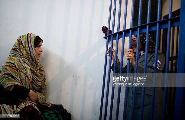 Massouma is a jail warden in Kabul's central jail in Afghanistan For prisoners like Sunila being looked after by policewomen rather than men is...
