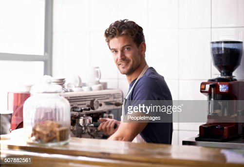 Master barista at work