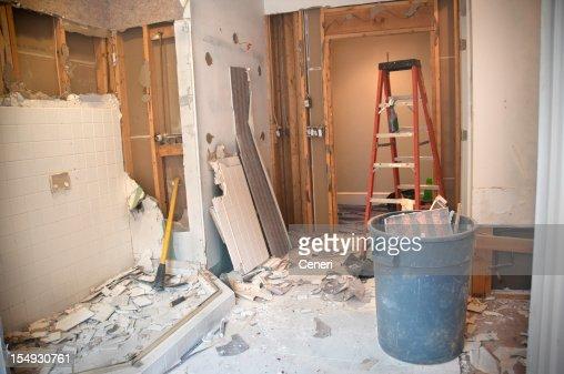 Master Bathroom Remodeling: Demolition Phase