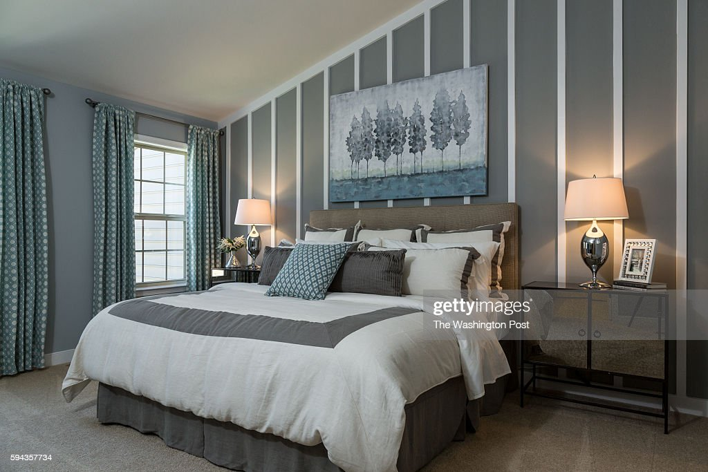 Master Bedroom in the Glasgow Model at Admirals Ridge on August 11 2016 in Arnold Maryland