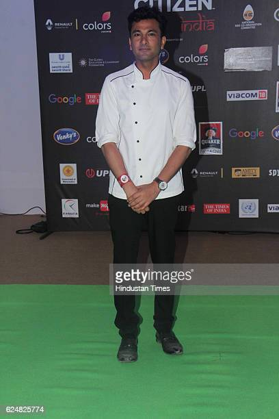 Master Chef Vikas Khanna during Global Citizen India concert at BKC on November 19 2016 in Mumbai India
