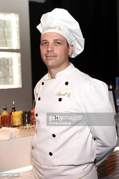 Master Chocolatier David Vignau attends The Weinstein Company and Netflix Golden Globe Party presented with FIJI Water Grey Goose Vodka Lindt...
