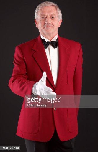 Master of ceremonies/concierge greeting