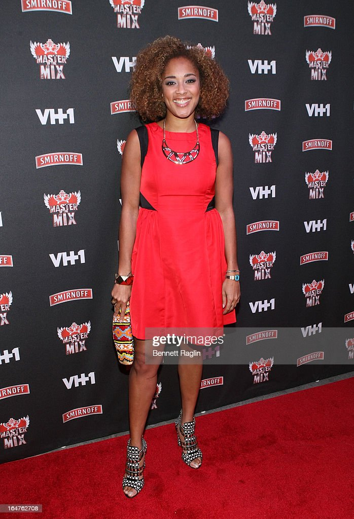 Master of the Mix cast member Amanda Seales attends the 'Masters Of The Mix' Season 3 Premiere at Marquee on March 27, 2013 in New York City.