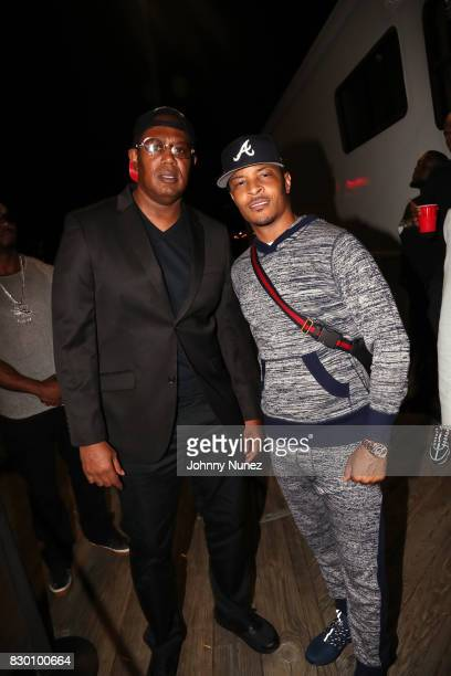 Master P and TI attend the 9th Annual 212NYC Summer Party at Pier 16 on August 10 2017 in New York City