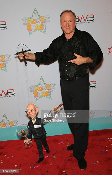 Master puppeteer Scott Land arrives at the 'Showbiz Roast of Oscar Goodman' at the Stratosphere Casino Hotel on July 23 2013 in Las Vegas Nevada
