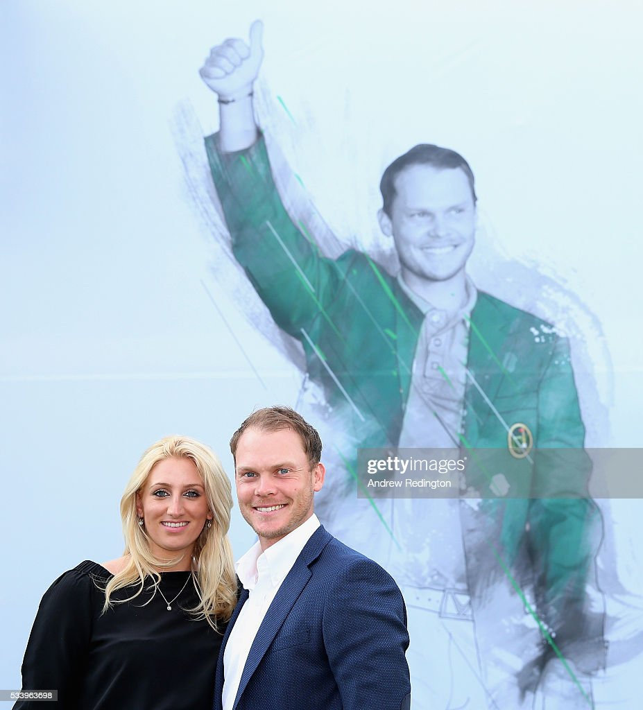 Masters Champion <a gi-track='captionPersonalityLinkClicked' href=/galleries/search?phrase=Danny+Willett&family=editorial&specificpeople=4488861 ng-click='$event.stopPropagation()'>Danny Willett</a> of England and his wife Nicole pose during the BMW PGA Championship Reception prior to the BMW PGA Championship at Wentworth on May 24, 2016 in Virginia Water, England.