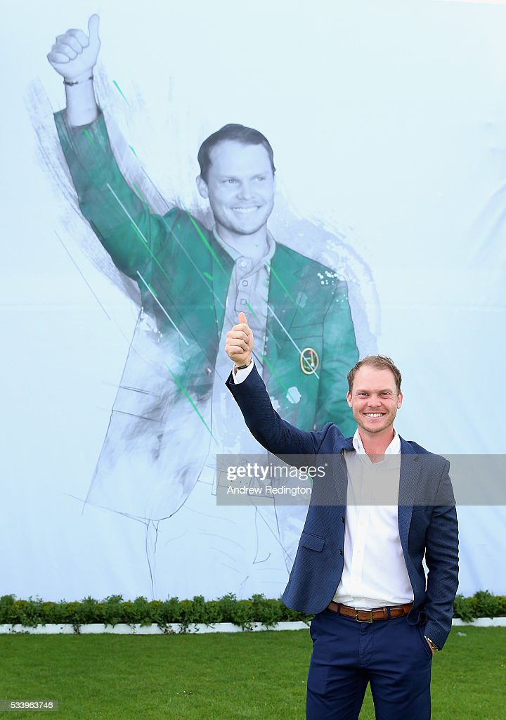 Masters Champion <a gi-track='captionPersonalityLinkClicked' href=/galleries/search?phrase=Danny+Willett&family=editorial&specificpeople=4488861 ng-click='$event.stopPropagation()'>Danny Willett</a> of England poses during the BMW PGA Championship Reception prior to the BMW PGA Championship at Wentworth on May 24, 2016 in Virginia Water, England.
