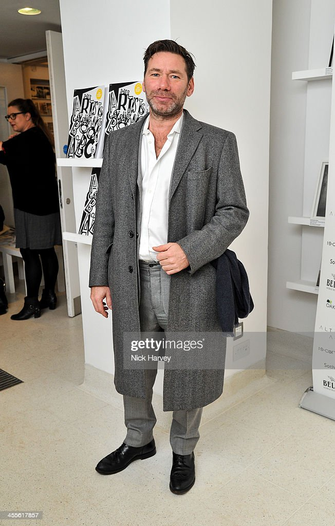 Mat Collishaw attends 'The Artists' Colouring Book of ABCs' Launch event at The Serpentine Gallery on December 12, 2013 in London, England.