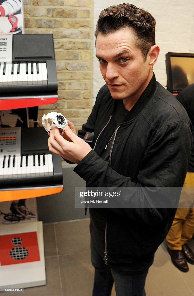 Mat Horne attends the launch of Casio London's Global Concept Store in Covent Garden Piazza on April 18, 2012 in London, England.