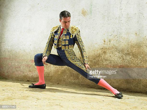 Matador Preparing for Fight