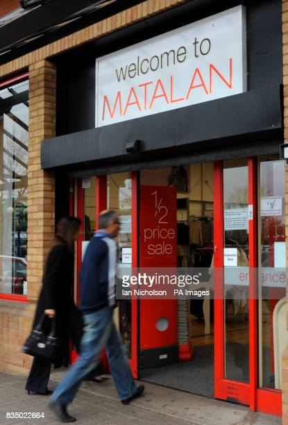 A Matalan store in Chelmsford Essex