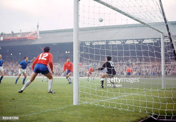 Match action at Roker Park